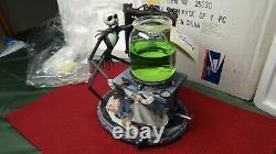 2002 Disney Nightmare Before Christmas Laboratory Snow Water Globe Lights. NIB