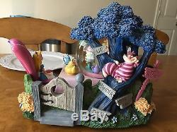 A Rare Disney Alice In Wonderland Snowglobe