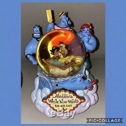 Aladdin genie Disney Snowglobe Snow Globe