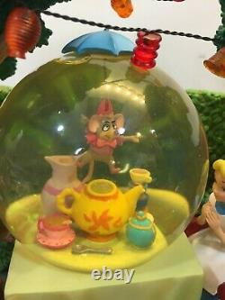 Alice In Wonderland Snow Globe The Unbirthday Mad Hatter Song Tea Party