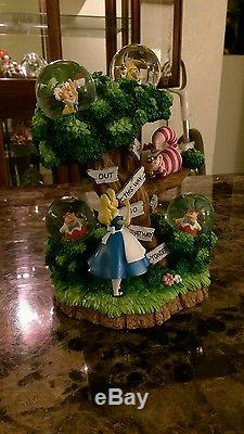 Alice in Wonderland Limited Edition LE Snow Globe