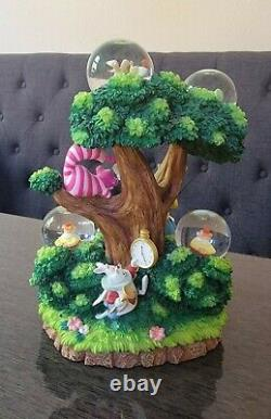 Alice in Wonderland Snow Globe Dome Disney Auctions Limited Edition of 500