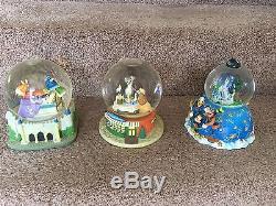 Amazing 15-piece Disney Snow Globe Lot