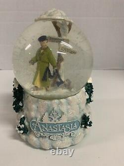 Anastasia Snow Globe Journey To Past San Francisco Music Box Company Rare 1997
