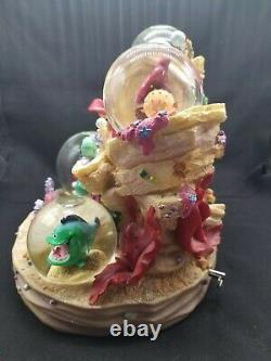 Ariel Little Mermaid Snow Globe Musical Under The Sea Music Box NO BOX Disney