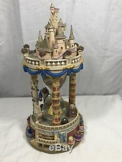 Beauty and the Beast Hourglass Musical Light-Up Disney Snowglobe