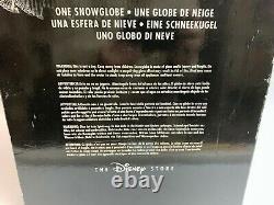 Big Snow globe Disney jack skellington & zero Music box nightmare before JAPAN