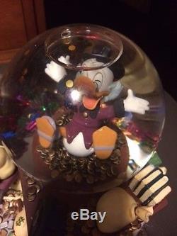 Carl Barks Disney Donald Ducks UNCLE SCROOGE Money Bin #1 Dime Musical Snowglobe