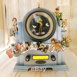 DISNEY 25th Disney Store Limited Snow Globe Music Box Light Up