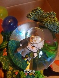 DISNEY RARE Up Movie Snowglobe Water Globe Russell Carl Dug