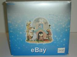 DISNEY'S DOGS Musical Snow Globe in Original Box