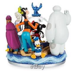 Disney Store 30th Anniversary Snowglobe-new