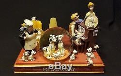 Disney 101 DALMATIANS Family Light Up Snow Globe