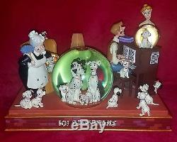 Disney 101 Dalmatians Musical Snowglobe