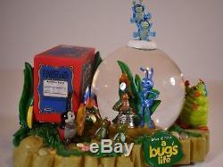 Disney 10th Anniversary A Bugs Life Snow Globe
