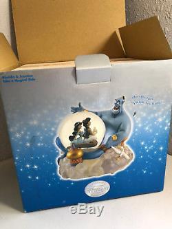 Disney Aladdin And Jasmine Snow Globe Take A Magical Ride New Musical