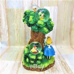 Disney Alice In Wonderland Snow Globe Dome Figurine 500 Limited
