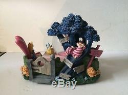Disney Alice In Wonderland Tea Party Snow globe
