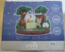 Disney Alice In Wonderland Unbirthday Snow Globe BLOWER AND LIGHTS DO NOT WORK
