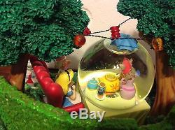 Disney Alice In Wonderlands Very Merry Unbirthday SnowGlobe