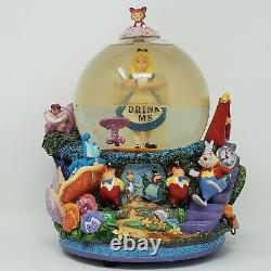 Disney Alice in Wonderland Drink Me Snow Globe All in the Golden Afternoon