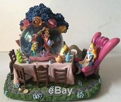 Disney Alice in Wonderland Snow Globe with box-Rare