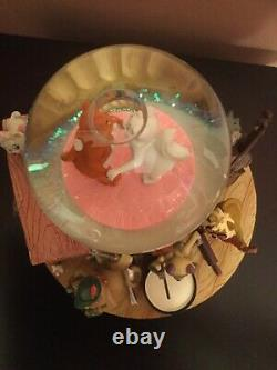 Disney Aristocats Musical Snow Globe Limited Edition