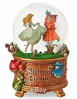 Disney Art of Aurora Sleeping Beauty Snow Globe NEW in original Packaging