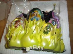 Disney Auctions Sleeping Beauty Snowglobe LE 500 Never on Display-NIB