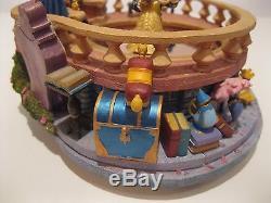 Disney Beauty & The Beast Music Box Magical Dancing Figurine Non Snowglobe