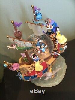 Disney Beauty and the Beast Snow Globe with box