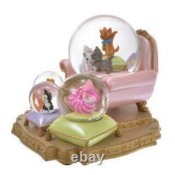 Disney Character Snow Globe I Love MY Disney CAT Fashionable cat Pinocchio