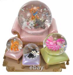 Disney Character Snow Globe I Love My Disney Cat Figaro Disney Store Japan