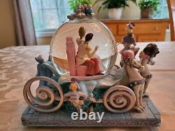 Disney Cinderella 50th Anniversary So This Is Love Musical Snow Globe