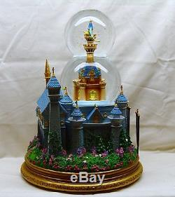 Disney Cinderella Castle Peter Pan Tinkerbell You Can Fly Snowglobe