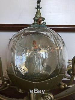 Disney Cinderella Coach Carriage Snow Globe limited edition RARE