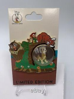 Disney DEC Snow Globe Series The Fox and the Hound LE 250 Pin Tod Copper