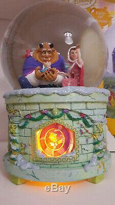 Disney Die Schöne und das Biest Schneekugel Snow Globe The Beauty and the Beast