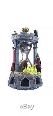 Disney Direct Sleeping Beauty Hourglass Snow Globe and Music Box Rare