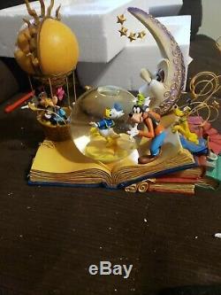 Disney Dream Of Animation Snowglobe Rare