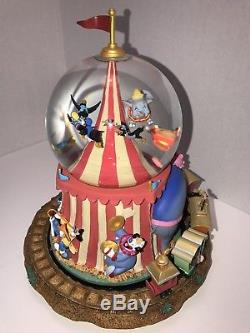 Disney Dumbo Snowglobe, Casey Junior, Big Top Circus