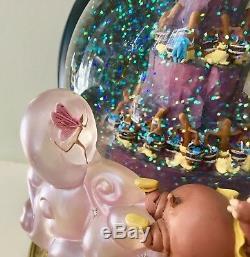 Disney Fantasia Double Bubble Snow Globe