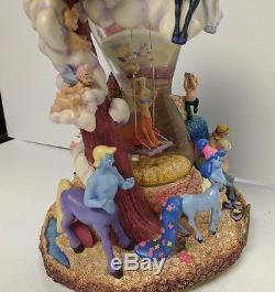 Disney Fantasia Festival of Bacchus Musical Snow Globe Rare HTF Flawed