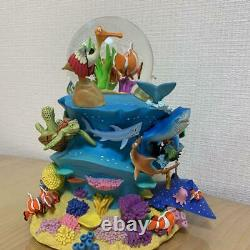 Disney Finding Nemo Snow Globe With Orgel Pixar Toy Hobby Charator Goods Used