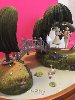 Disney Gallery 40th Anniversary Mary Poppins Snow globe By Jody Daily (Rare)