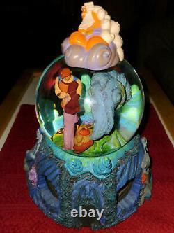 Disney Hercules Musical Snow Globe Megara Zeus Hades (Flawless)