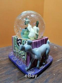 Disney Lady & the Tramp Siamese Cat Si Am Music Blower Glitter Water Snow Globe