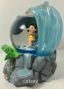 Disney Lilo & Stitch Surfin' Snow Globe Perfect