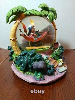 Disney Lilo and Stitch Aloha Musical Snow globe with light