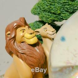 Disney Lion King Snow Dome Snow Globe Music Box 25th Anniversary
